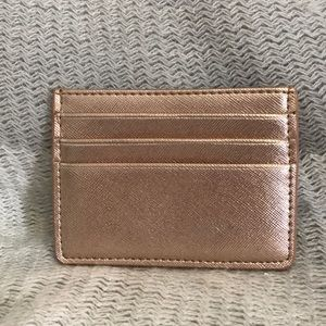 Accessories - Rose Gold Card Wallet